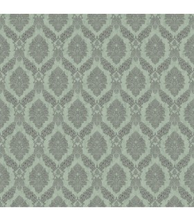 HO3306 - Tailored Wallpaper by York - Peacock Damask