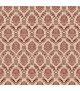 HO3307 - Tailored Wallpaper by York - Peacock Damask