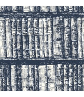 HO3317 - Tailored Wallpaper by York - Library Boookshelf