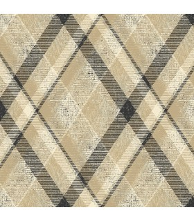 HO3354 - Tailored Wallpaper by York - Diamond Plaid