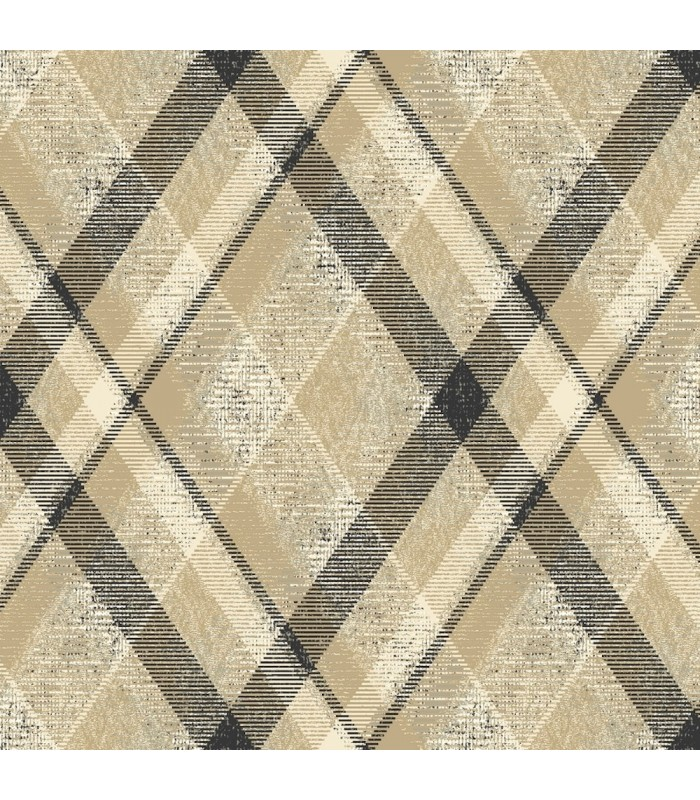 HO3354 - Tailored Wallpaper by York - Diamond Plaid