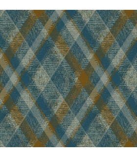 HO3355 - Tailored Wallpaper by York - Diamond Plaid