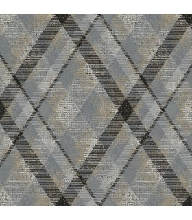 HO3356 - Tailored Wallpaper by York - Diamond Plaid