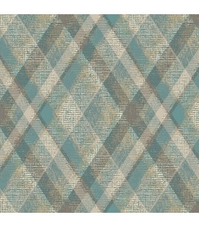 HO3357 - Tailored Wallpaper by York - Diamond Plaid