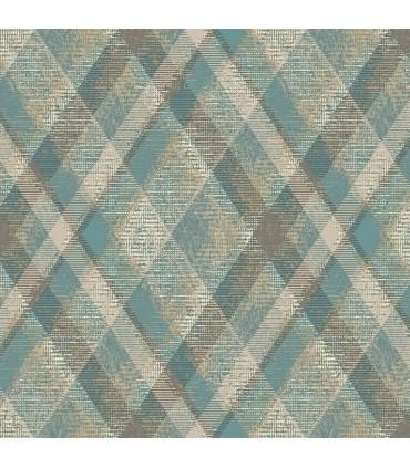 HO3357 - Tailored Wallpaper by York - Diamond Plaid
