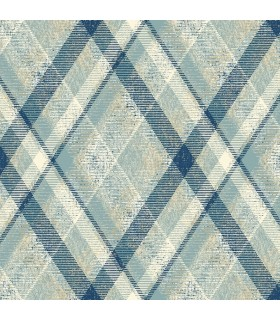 HO3358 - Tailored Wallpaper by York - Diamond Plaid