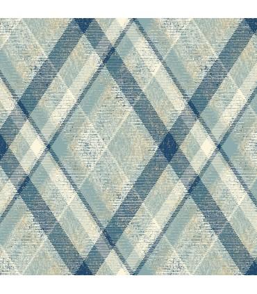 HO3358 - Tailored Wallpaper by York - Diamond Plaid