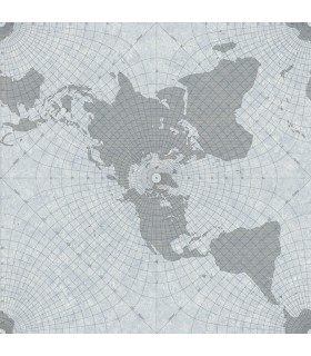 HO3366 - Tailored Wallpaper by York - Maritime Map