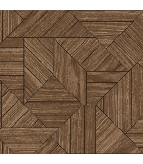 HO3370 - Tailored Wallpaper by York - Wood Geometric