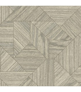 HO3371 - Tailored Wallpaper by York - Wood Geometric