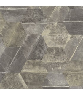 ET4021 - Dimension and Color Wallpaper by 750 Home-Hexagon Stone