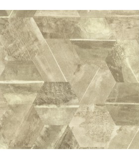 ET4024 - Dimension and Color Wallpaper by 750 Home-Hexagon Stone