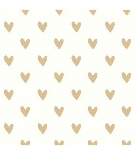 RMK3525WP - Peel and Stick Wallpaper-Hearts