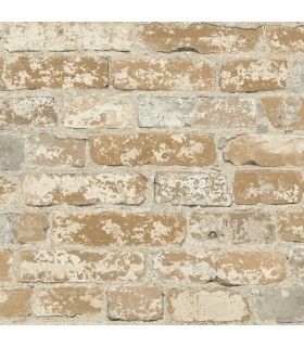RMK9037WP - Peel and Stick Wallpaper-Brick