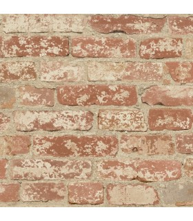 RMK9035WP - Peel and Stick Wallpaper-Brick