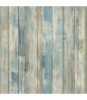 RMK9052WP - Peel and Stick Wallpaper-Distressed Wood