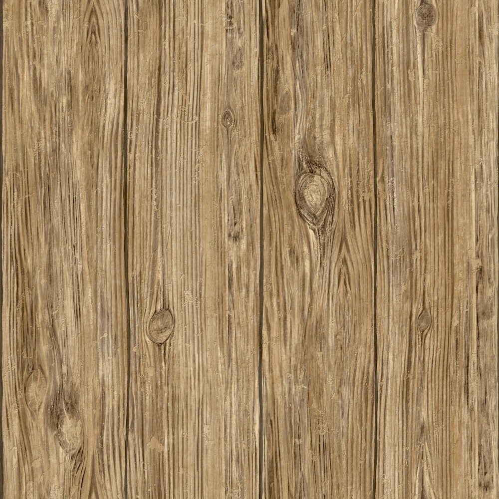 Rmk9088wp Peel And Stick Wallpaper Brown Wood Planks Wallpaper The Home