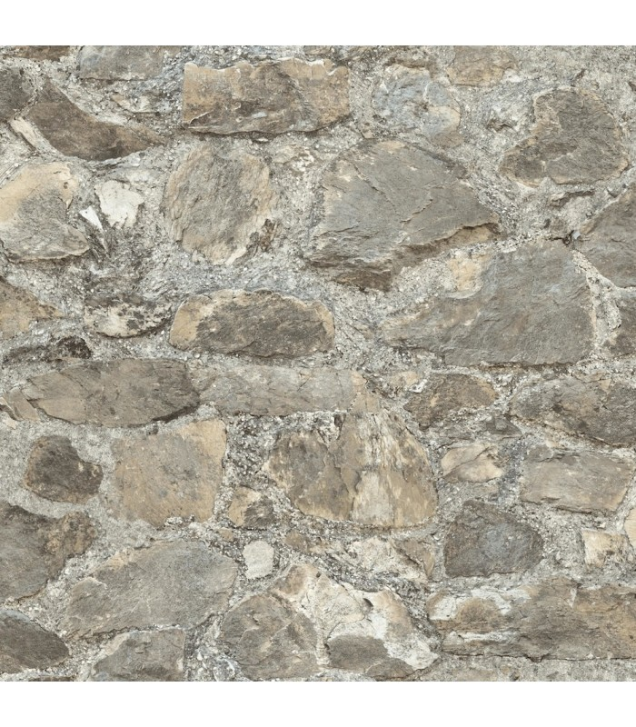 RMK9096WP - Peel and Stick Wallpaper-Weathered Stone