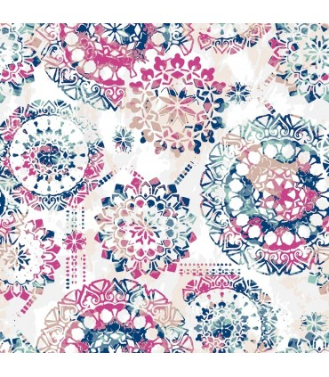 RMK9125WP - Peel and Stick Wallpaper- Bohemian