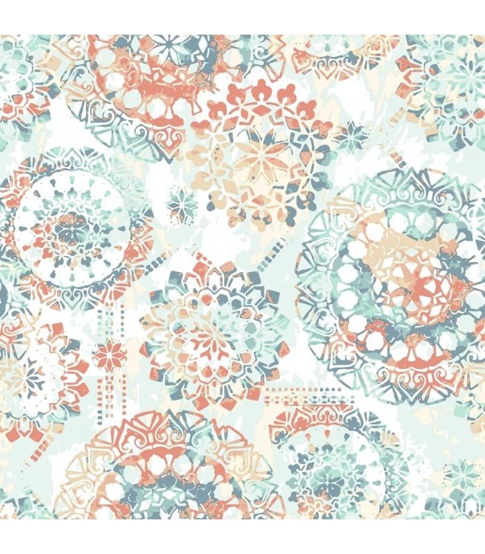 RMK9126WP - Peel and Stick Wallpaper- Bohemian