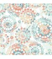 RMK9126WP - Peel and Stick Wallpaper- Bohemian
