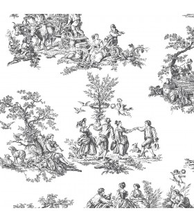 CH22508 - Manor House Wallpaper by Norwall-Toile