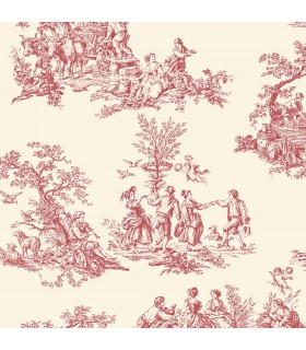 GC29851 - Manor House Wallpaper by Norwall-Toile