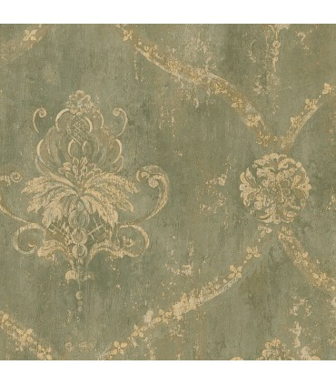 CH22568 - Manor House Wallpaper by Norwall-Damask