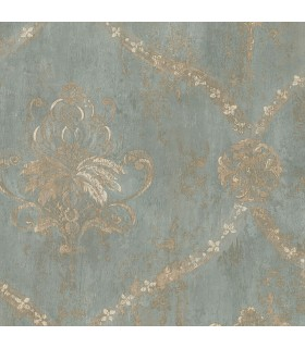 CH28248 - Manor House Wallpaper by Norwall-Damask