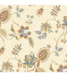 GC29831 - Manor House Wallpaper by Norwall-Floral