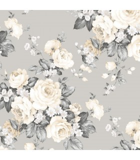 MH36505 - Manor House Wallpaper by Norwall-Roses