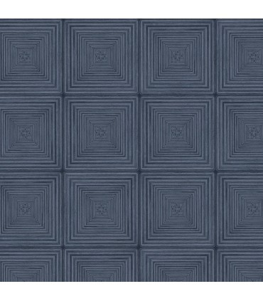 MH36523 - Manor House Wallpaper by Norwall-Geometric Squares