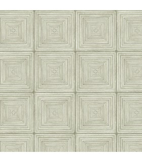 MH36525 - Manor House Wallpaper by Norwall-Geometric Squares