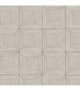 MH36526 - Manor House Wallpaper by Norwall-Geometric Squares