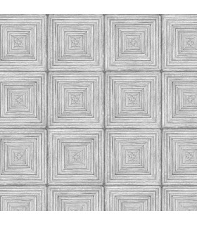 MH36527 - Manor House Wallpaper by Norwall-Geometric Squares