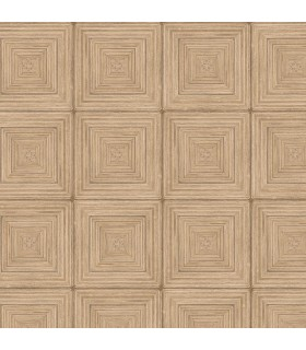 MH36528 - Manor House Wallpaper by Norwall-Geometric Squares
