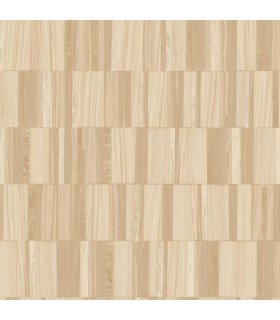 MM1701 - Mixed Materials Wallpaper by York-Gilded Wood Tile
