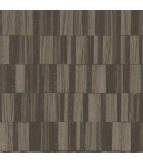 MM1704 - Mixed Materials Wallpaper by York-Gilded Wood Tile