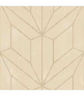 MM1708 - Mixed Materials Wallpaper by York-Hammered Diamond Inlay