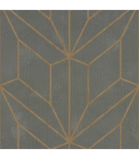 MM1710 - Mixed Materials Wallpaper by York-Hammered Diamond Inlay