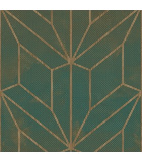 MM1711 - Mixed Materials Wallpaper by York-Hammered Diamond Inlay