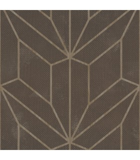 MM1712 - Mixed Materials Wallpaper by York-Hammered Diamond Inlay