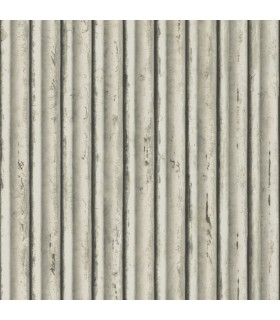 MM1716 - Mixed Materials Wallpaper by York-Weathered Metal