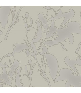 MM1725 - Mixed Materials Wallpaper by York-Botanical Silhouette
