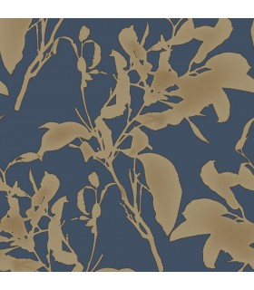 MM1727 - Mixed Materials Wallpaper by York-Botanical Silhouette