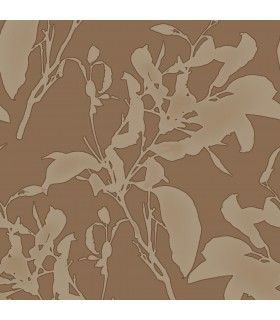 MM1726 - Mixed Materials Wallpaper by York-Botanical Silhouette