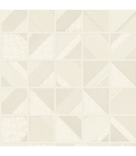 MM1747 - Mixed Materials Wallpaper by York-Patchwork Tile