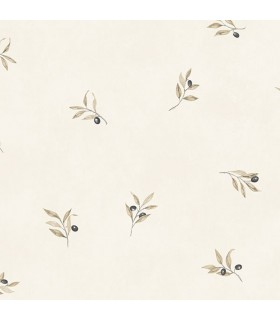CK36606 - Creative Kitchens Wallpaper by Norwall-Olive Branch