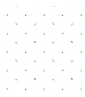 CK36600 - Creative Kitchens Wallpaper by Norwall-Mini Print Leaves