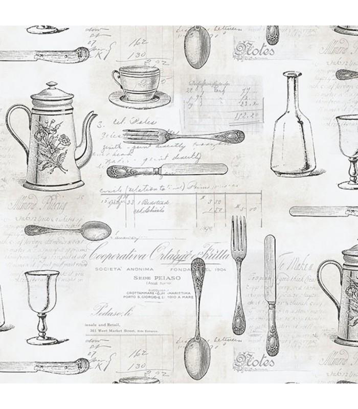 Ke29939 Creative Kitchens Wallpaper By Norwall Kitchen Utensils